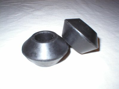 T Bar Conical Bushes