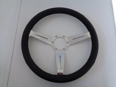 Nardi Style Black Leather Steering Wheel