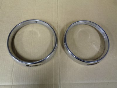 GT/GTV Step Front Pair of Headlight Rings