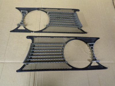 1750 Berlina Pair Of Mesh Grille Sections