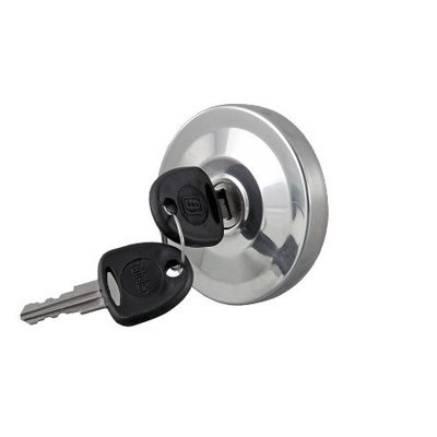 Locking Fuel Cap Bayonet Style Stainless Steel