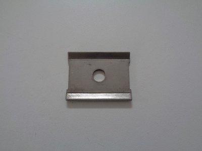 Exhaust Rubber Hanger Metal Plate