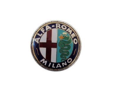 Alfa Romeo Milano Badge Enamel