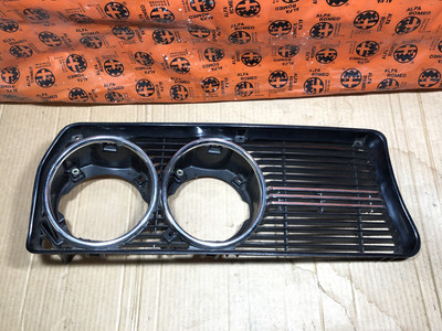 Alfetta Saloon 1st Series Front Grille, Right Side New Old Stock