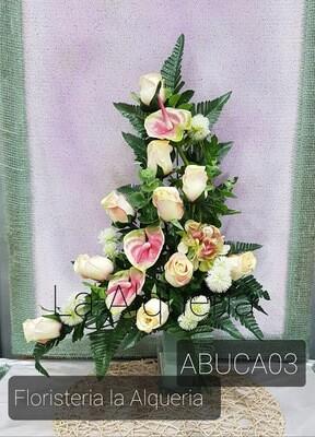 Bucaro Artificial Cementerio -Mod. ABUCA-03