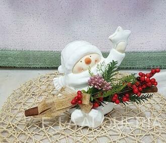 Muñeco Navidad NIEVE