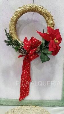 Corona Navidad ENTRADA