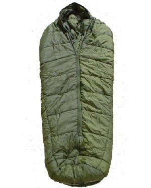 MEDIUM GENUINE ISSUE BRITISH ARMY ARCTIC SLEEPING BAG USED COLD WEATHER