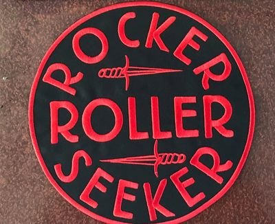 PATCH ROCKER ROLLER SEEKER ROUND