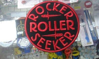 PATCH ROCKER ROLLER SEEKER ROUND SMALL