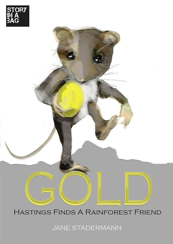 Children's Book- GOLD. Includes postage within Australia
