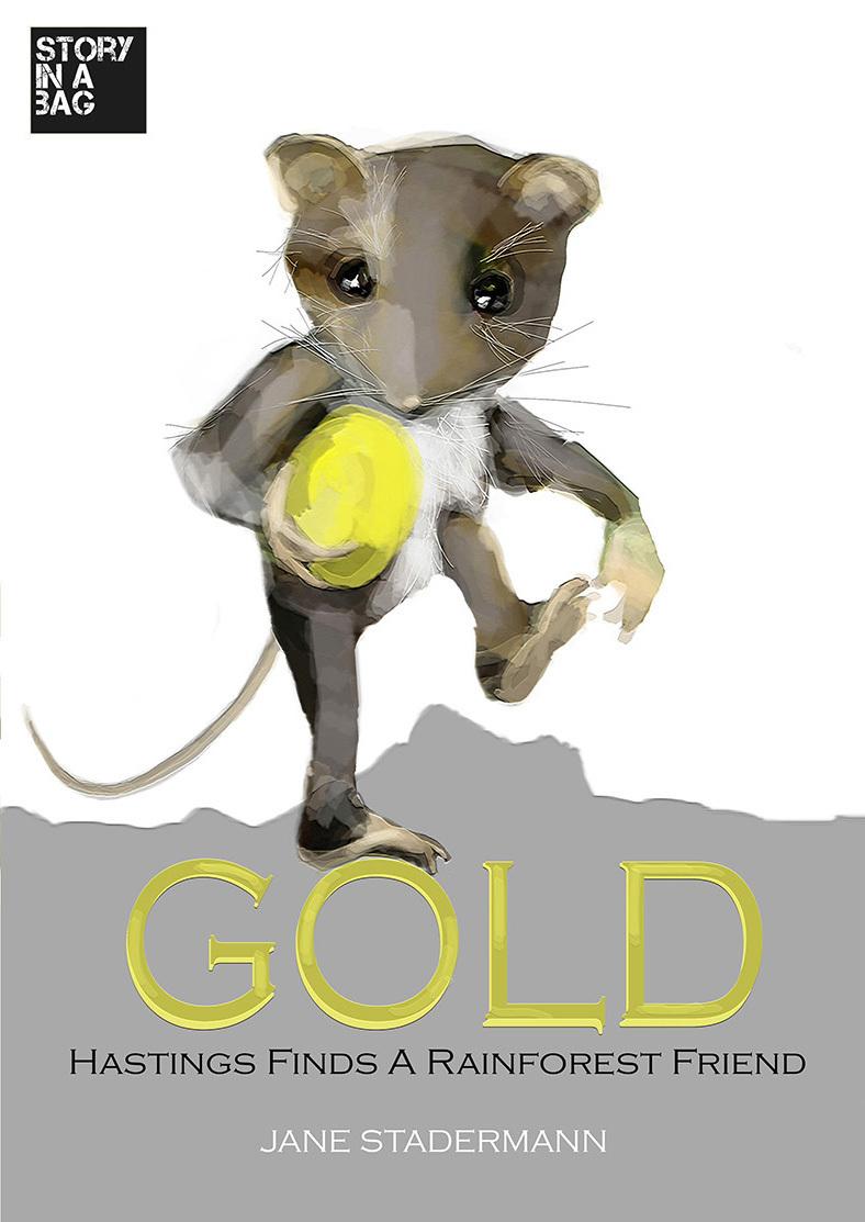 Children's book- GOLD. Pick up Murwillumbah