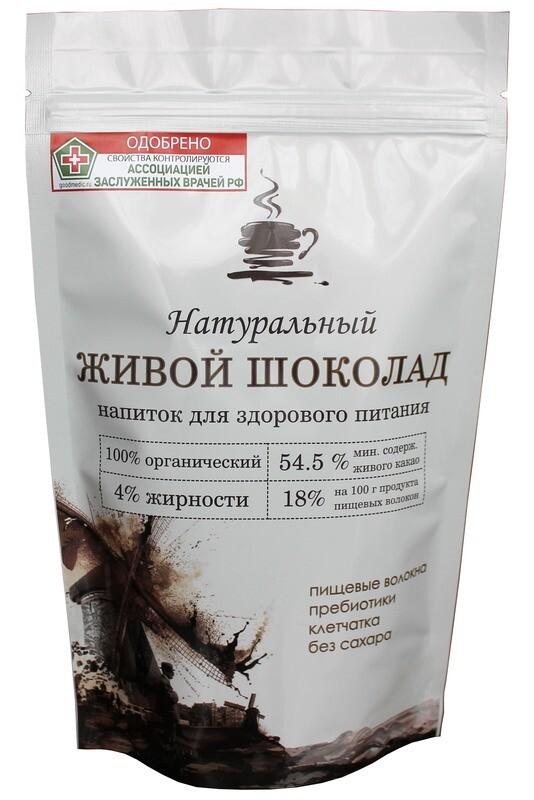 Пребиотический комплекс Живой Шоколад. Heard Food