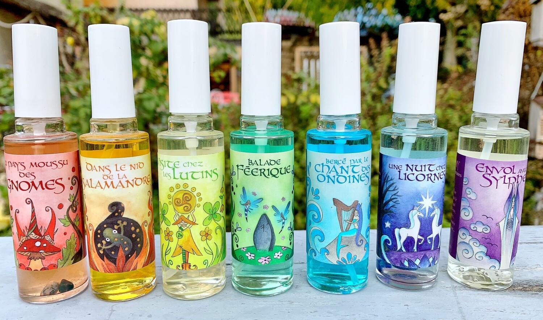 Parfums des 7 chakras - 30ml