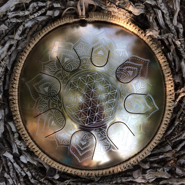 Gaia Drum Fleur de vie
