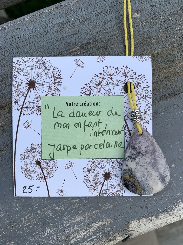 Jaspe Porcelaine «La Douceur de mon enfant intérieur»