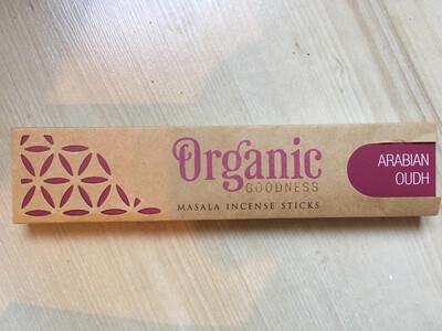 Encens bâton Bio Arabian Oudh