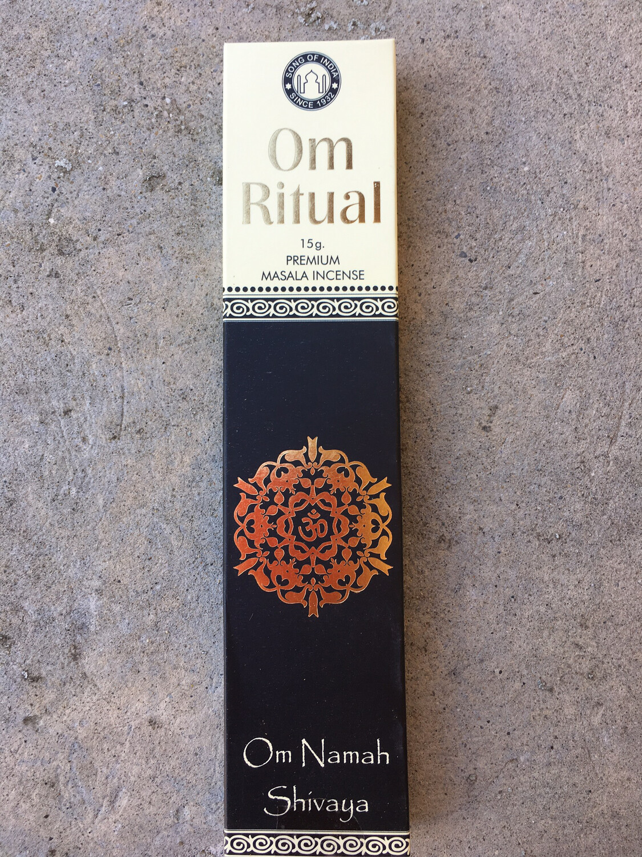 Encens naturel haute qualité Om Namah Shivaya