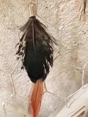 Boucle D'oreilles Plume