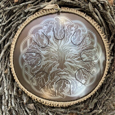 «L'esprit de la forêt» gaia drum
