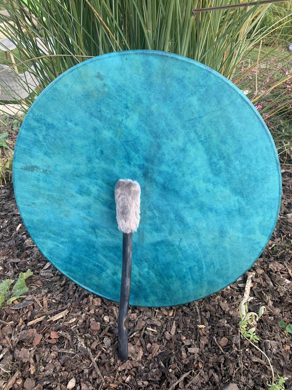«Alignement elfique» tambour de Pan avec tourmaline