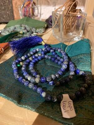 Mala de lapis Lazuli