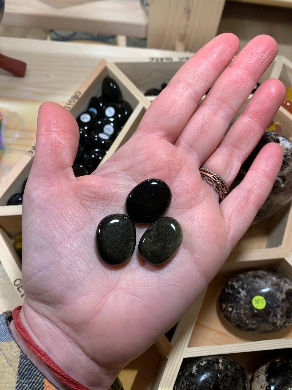 Obsidienne dorée, une piece