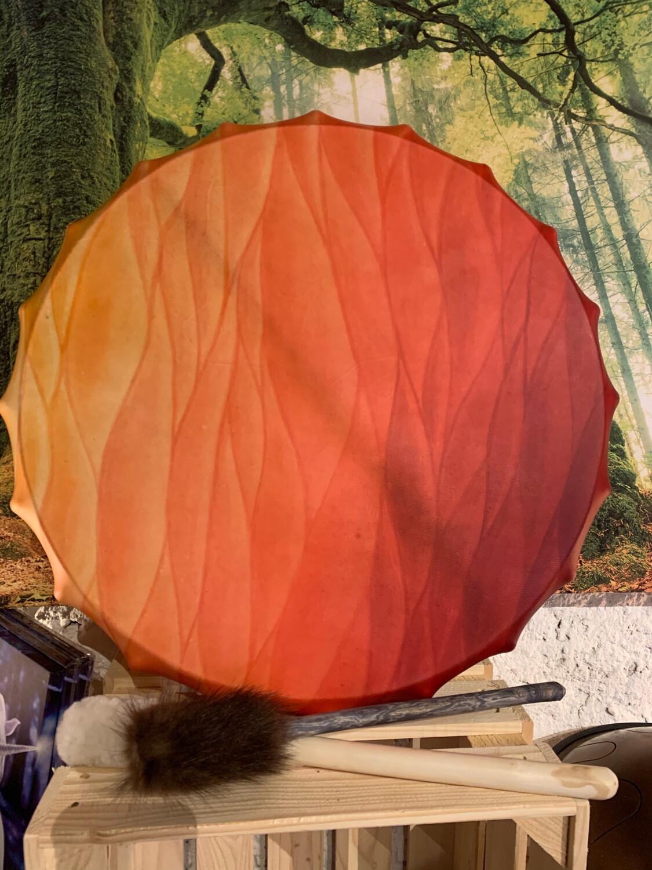 L'appel du phœnix : tambour de Pan de transformation émotionnelle avec médecine du corail