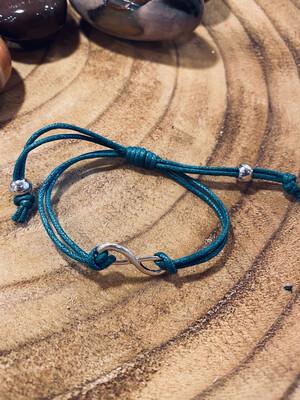 Bracelet infini vert