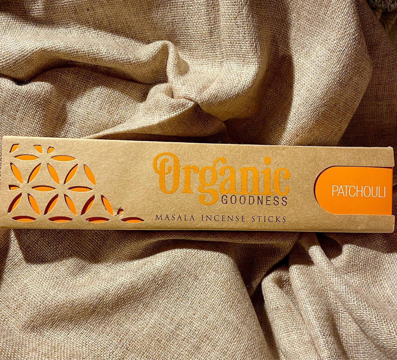 Encens Organic au patchouli