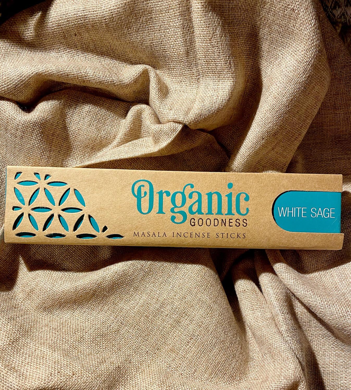 Encens organic à la sauge blanche