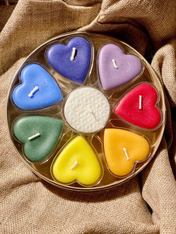 Bougies au huiles essentielles amour !