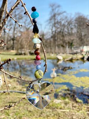 Prisme pour honorer les esprits de la nature du Jardin ou chez soi: Élément Ether