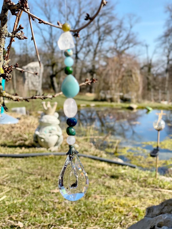 Prisme pour honorer les esprits de la nature du Jardin ou chez soi: Élément Eau