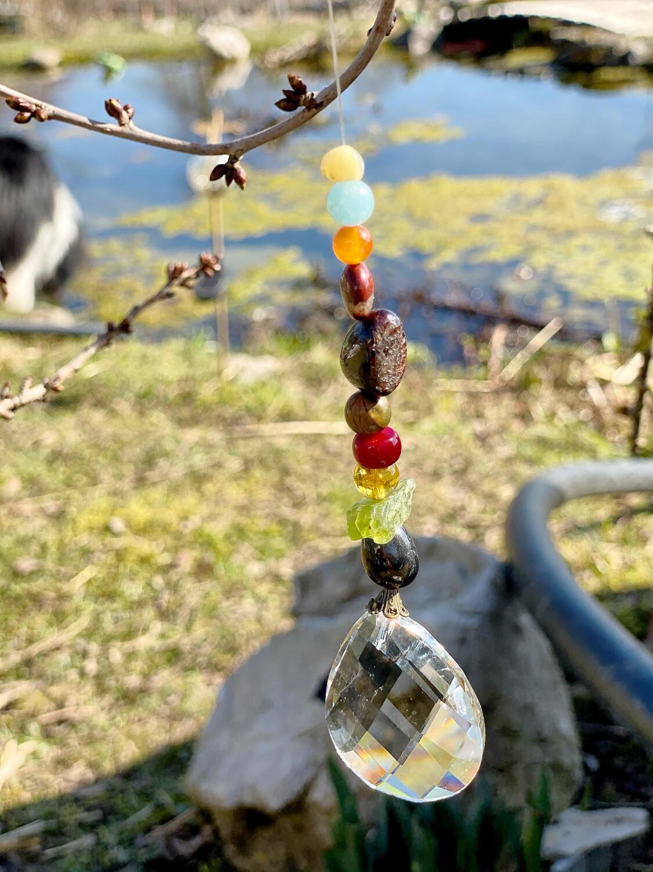 Prisme pour honorer les esprits de la nature du jardin ou chez soi: Élément Feu