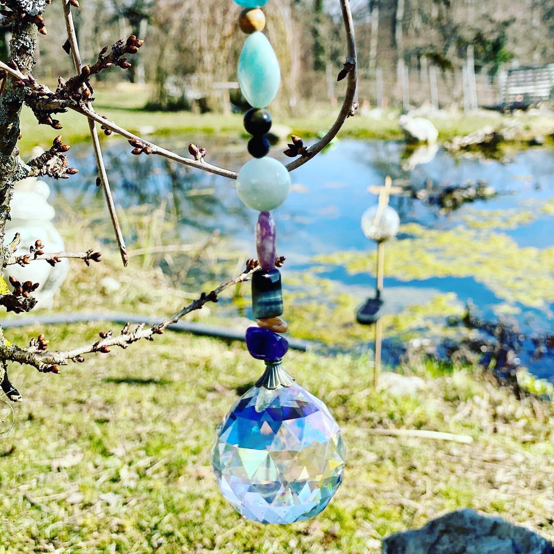 Prisme pour honorer les esprits de la nature du Jardin ou chez soi: Élément Air