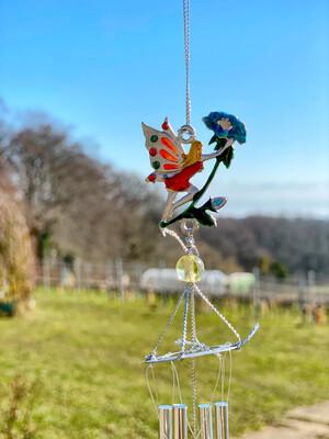 Carillon «fées du jardin, esprit des fleurs»