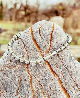 Bracelet «corps de féeno 11» minceur et détox avec cristal de roche