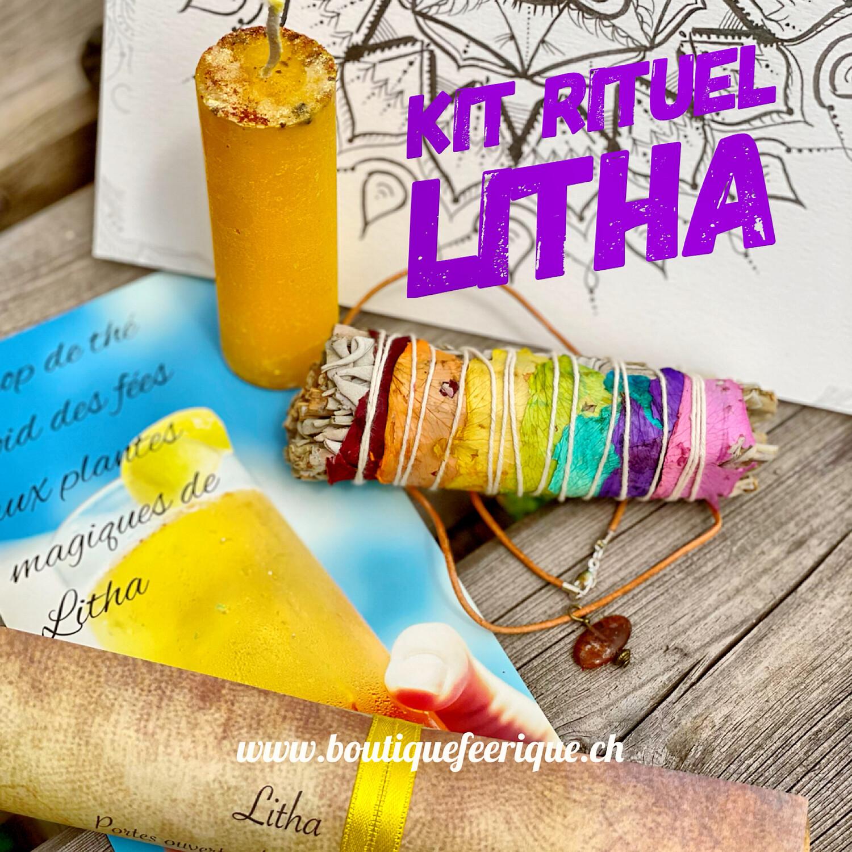Kit rituel litha PETIT pour élèves cycle druidique