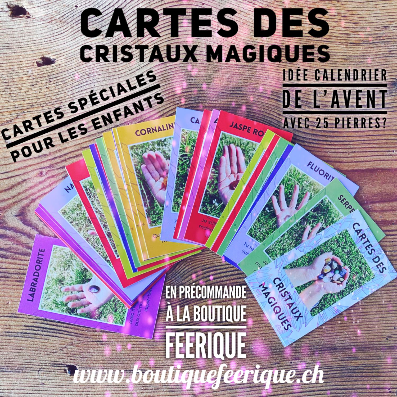 Précommande : Cartes des cristaux magiques / en impression : sera livré début novembre 2021