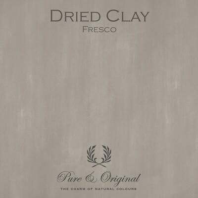 Dried Clay Fresco