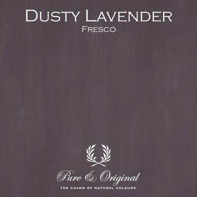 Dusty Lavender Fresco