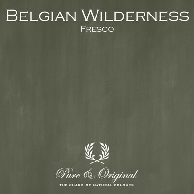 Belgian Wilderness Fresco