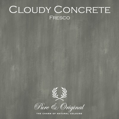 Cloudy Concrete Fresco