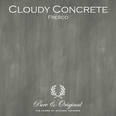 Cloudy Concrete Fresco