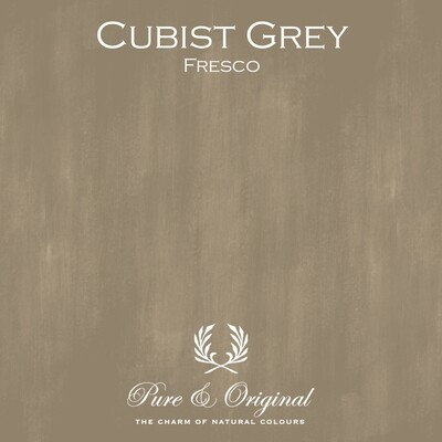 Cubist Gray Fresco