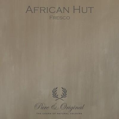 African Hut Fresco
