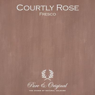 Courtly Rose Fresco