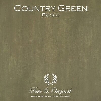 Country Green Fresco