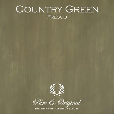 Country Green Fresco